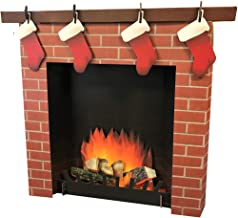 Advanced Graphics 3D Fireplace Life Size Cardboard Cutout Standup
