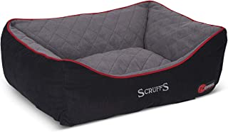 Scruffs Dog Thermal Box Bed, 60cm x 75cm, Black