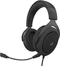 Corsair HS60 Pro – 7.1 Virtual Surround Sound PC Gaming Headset w/USB DAC - Discord Certified Headphones – Compatible with...