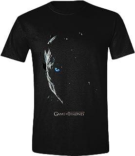 Game of Thrones Season 7 Poster - Night King T-Shirt Black
