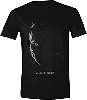 a478d0fd Game of Thrones Season 7 Poster - Night King T-Shirt Black