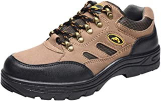 KESOTO Work Men's Soft Stride Canopy Slip Resistant Work Boots Working Safty Shoes