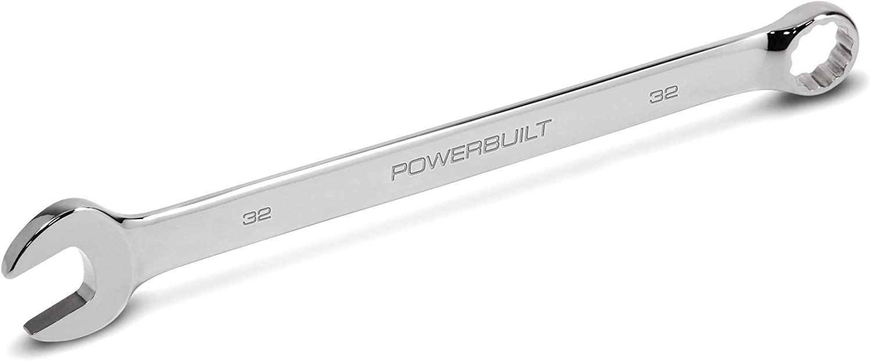 Powerbuilt 641688 Metric Long Combination Wrench Spasm price Sacramento Mall 32mm Pattern
