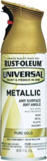 12 Oz Pure Gold Universal Spray Paint [Set of 6]