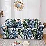 WXQY Funda de sofá Moderna pasada de Moda Funda de sofá elástica Funda de sofá combinación de Silla sofá de Sala de Estar Funda Protectora Antideslizante A4 2 plazas
