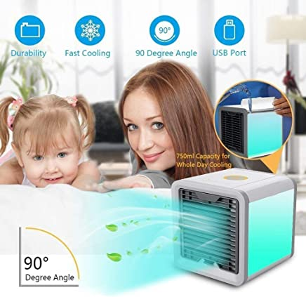 Harivar Mart Mini Portable Air Cooler Fan Arctic Air Personal Space Cooler The Quick & Easy Way to Cool Any Space Air Conditioner Device Home