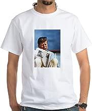 CafePress JFK Smoking T-Shirt 100% Cotton T-Shirt, White