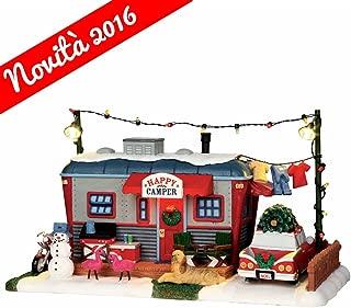 Lemax 1 64060 Happy Camper Village Building, Multicolored, Red