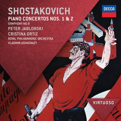 Peter Jablonski, Cristina Ortiz, Royal Philharmonic Orchestra, Vladimir Ashkenazy & Dmitri Shostakovich