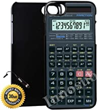 Custom iPhone 8 Case (Scientific Calculator) Edge-to-Edge Plastic Black Cover with Shock and Scratch Protection | Lightweight, Ultra-Slim | Includes Stylus Pen by INNOSUB