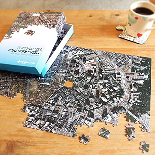 Personalized 'My Hometown' Jigsaw Puzzle (USA Aerial Photography) 400