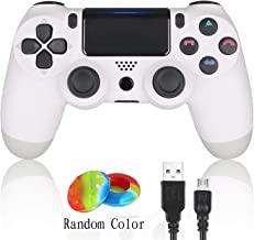 DualShock 4 Wireless Controller for Playstation 4,Black (White)