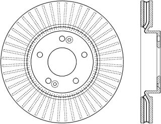 ACDelco 18A81865 Professional Disc Brake Rotor