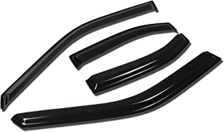 For Nissan Sentra B15 4DR 4pcs Tape-On Window Visor Deflector Rain Guard