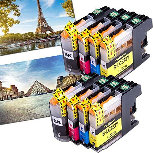 OGOUGUAN 8 LC223 - Cartuchos de tinta compatibles con Brother DCP-J562DW MFC-J4120DW J5320DW J880DW J5620DW J5625DW J680DW J4625DW J5720DW J4420DW J4620DW J480DW