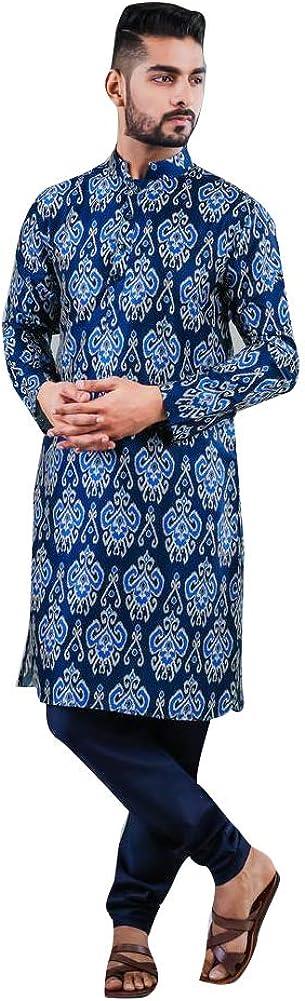 ELINA FASHIONMen's Indian Satin Cotton Set Bargain Kurta Tuni Phoenix Mall Pajama
