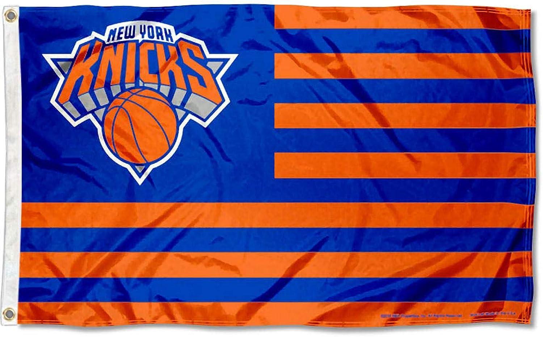 WinCraft New York Knicks Americana Stripes Nation 3x5 Flag