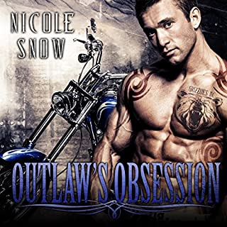 Outlaw's Obsession audiobook cover art