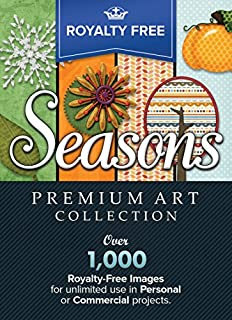 Royalty-Free Premium Seasons Image Collection: Top-Quality ClipArt and Backgrounds To Make Your Scrapbook Designs, Invitations and Other Projects GLORIOUS!! (for PC) [Download]