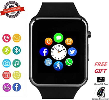 Smart Watch Phone Smartwatch with Camera Pedometer Call...
