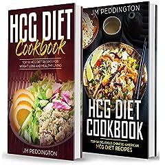HCG Diet Cookbook: 2 Books in 1