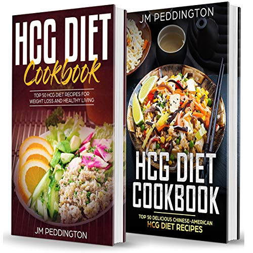 HCG Diet Cookbook: 2 Books in 1 cover art
