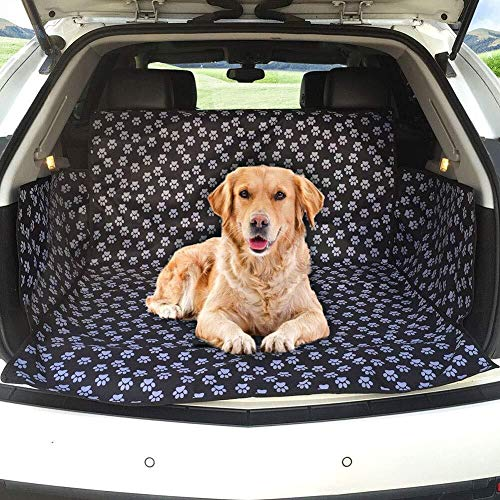 XFSE Cama de Perro Estera del Coche for Mascotas, Protección contra Los Costados for La Mayoría De Los Autos SUV, 155 * 104 * 33 Cm