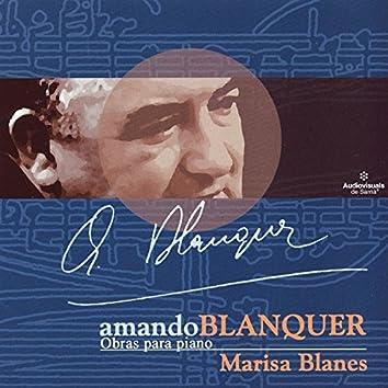 Amando Blanquer. Obras Para Piano