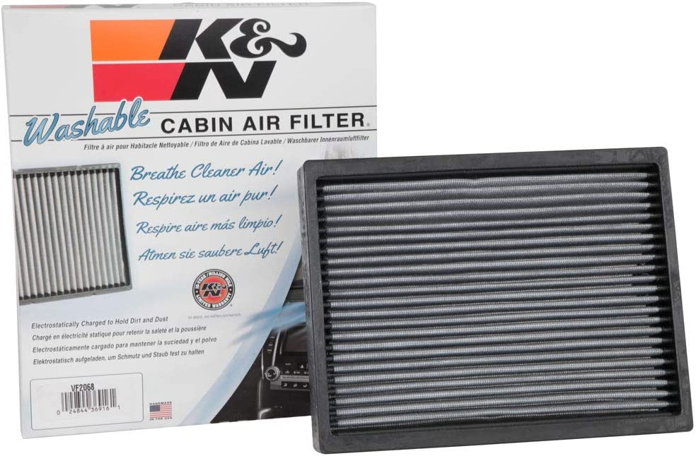 KN Premium Cabin Air sold out Filter: Special Campaign Washable Clean High Performance