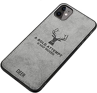 Fabric Cover For iPhone 11 From Deer - Gray