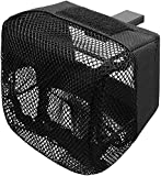 GLORYFIRE Pic Rail Brass Catcher with Heat Resistant Mesh and Zippered Bottom for Picatinny Mountable Quick Unload