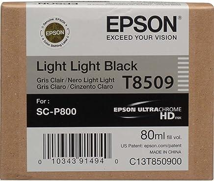 Epson T8509-C13T850900 Açık Açık Siyah Orjinal Kartuş