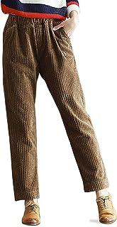 47ff6fbf25 Amazon.fr : Pantalon velours cotele femme Pantalon en velours femme ...