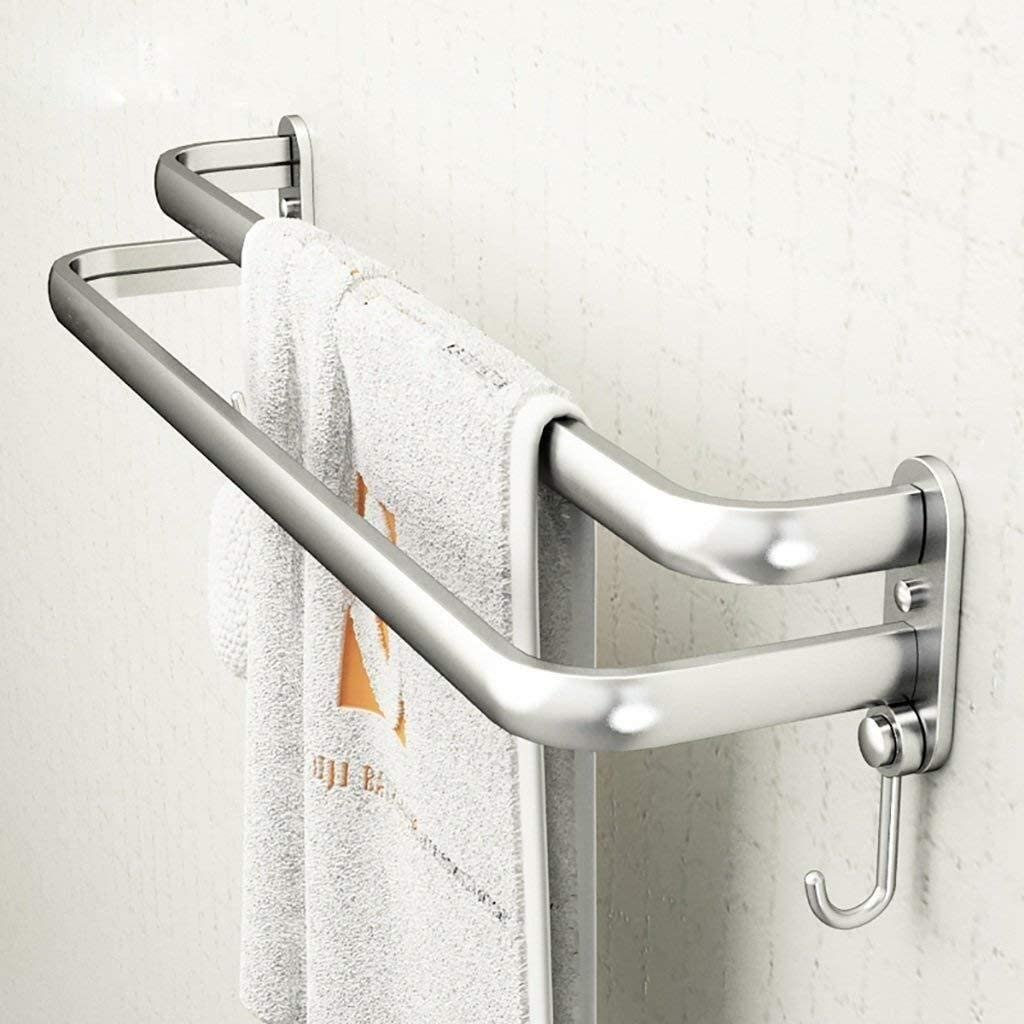 Achysj 304 Stainless Steel Towel Aluminum T Space Rack service Bar Max 49% OFF