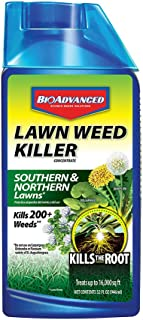 BioAdvanced 704160 Weed Killer for Lawns Concentrate, 32-Ounce