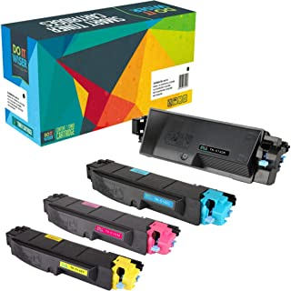 Do it Wiser Compatible Toner Cartridge Replacement for Kyocera TK-5142 (TK5142) Kyocera ECOSYS M6530cdn M6030cdn P6130cdn Printers - TK-5142K TK-5142C TK-5142M TK-5142Y (4-Pack)
