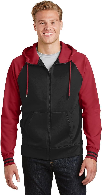 Sport-Tek?ST236 Sport Wick?Varsity Fleece Full Zip Hooded Jacket