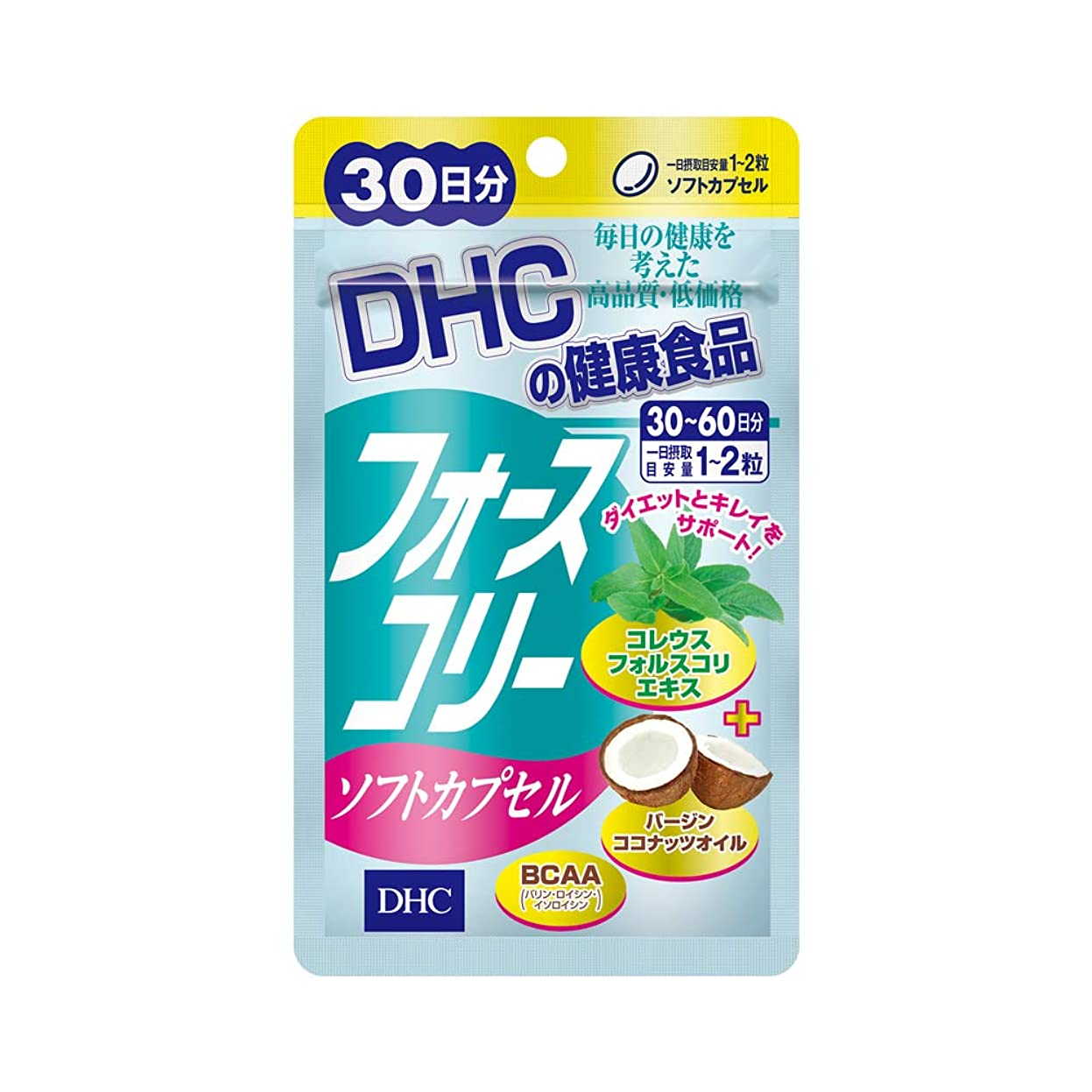 バリー韓国語韓国語DHC フォースコリー ソフトカプセル 30日分