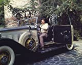 Peter Falk 10x 8Werbe Bild sitzend in Rolls Royce