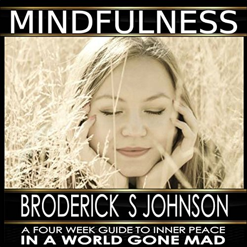 Mindfulness: A Four Week Guide to Inner Peace in a World Gone Mad audiobook cover art