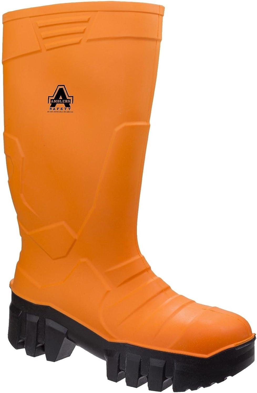 Amblers Safety Mens 1010 S5 CI SRC Safety Wellington Boots