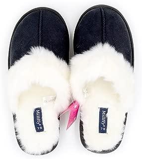 Nordic Style Faux Fur Trim Rabbit Hair Women's Suede Memory Foam Slippers Indoor eva Slipper