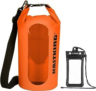 KastKing Dry Bags, 100% Waterproof Storage Bags, Military Grade Construction for Swimming, Kayaking, Boating, Hiking, Camp...