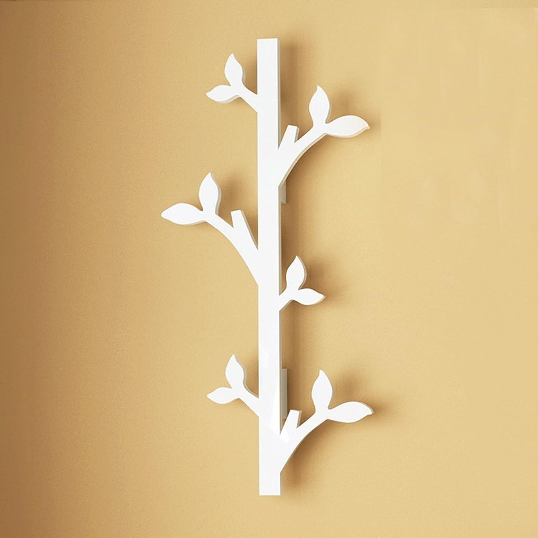 染色負値シュウクラブ@ 壁ハンガー壁頑丈な木製ハンガー寝室壁掛け衣類ラック多機能壁掛けフック