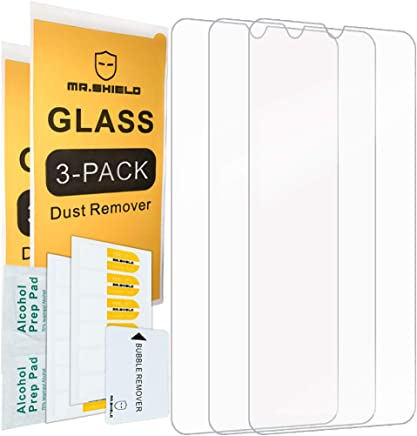 [3-Pack]-Mr.Shield for Samsung Galaxy A50 [Tempered Glass] Screen Protector with Lifetime Replacement
