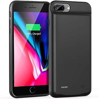 HRX - Battery Case For iPhone 6-Plus/6s-Plus/7-Plus /8-Plus (4000mAh), External Extended Smart Charging Case Portable Batt...