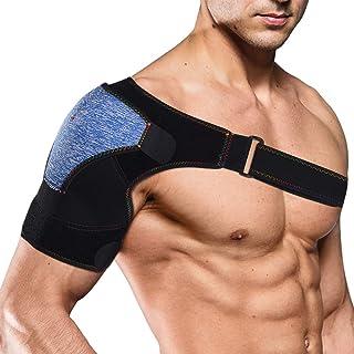 Xcellent Global Shoulder Brace Support for Men & Women Adjustable Neoprene Compression Shoulder Wrap Fits for Left or Righ...