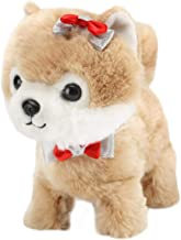 Simulation Electric Dog Leash Smart Plush Toys Will Walk And Call Electronic Pet Dog BIAOYAN-SA