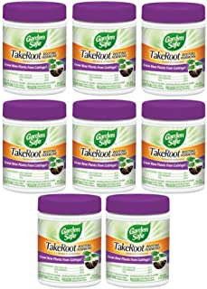 Garden Safe Take Root Rooting Hormone, 2-Ounce (8 pack)