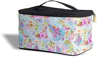Beach Time Aloha Surfboard Cosmetics Storage Case - Makeup Zipped Travel Bag